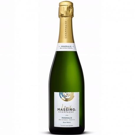 Champage Nature champagne extra-brut chardonnay peu dosé en sucre