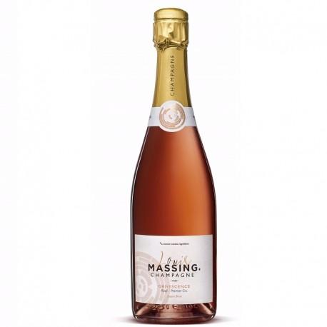 bon champagne rosé floral et élégant