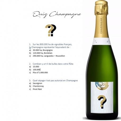 recevez votre box champagne tous les mois avec son quiz champagne
