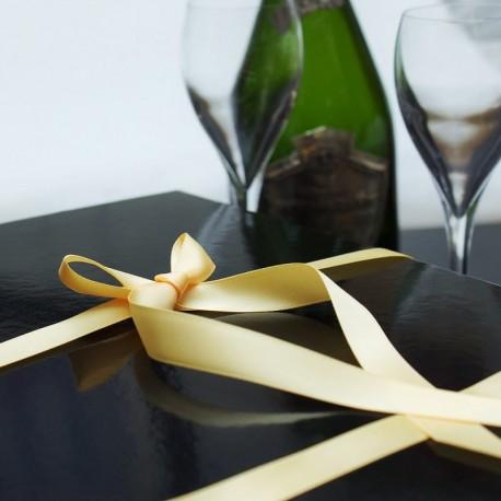Coffret Champagne avec flûtes la box champagne cadeau à offrir